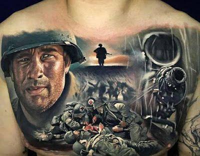 Tatuaje De Salven Al Soldado Ryan Salvando Al Soldado Ryan Tatuajes De Peliculas Soldado