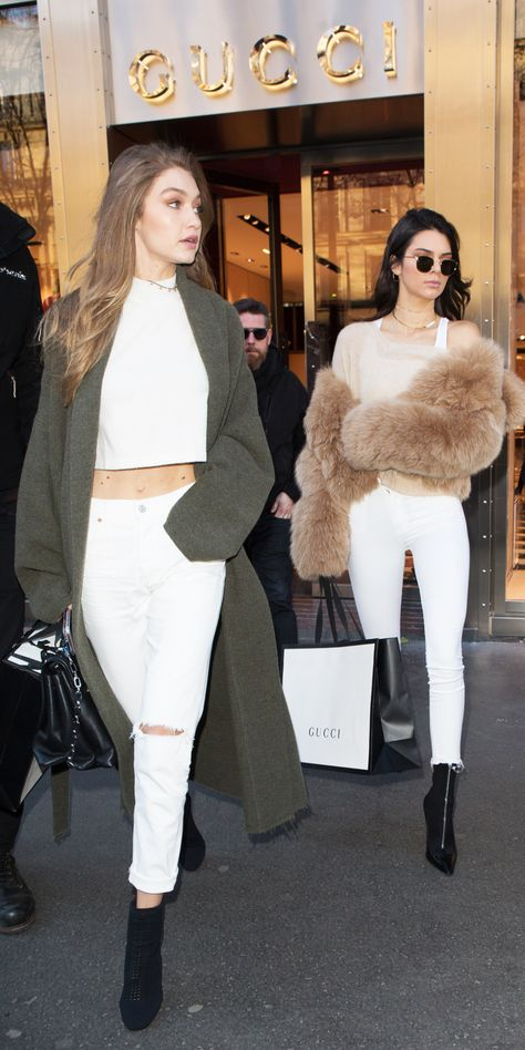 See all the best street style looks from Gigi Hadid, Kendall Jenner, Lady Gaga, Alessandra Ambrosio, and more straight from Paris where they are filming the 2016 Victoria's Secret Fashion Show.