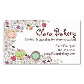 Chocolate Chip Cookies Business Cards Cookie Business Bakery Business Cards Bakery Business Cards Templates