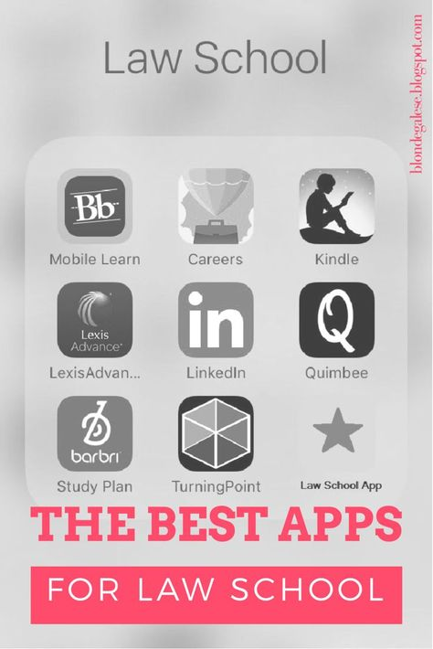 The Best Apps for Law School - #Apps #Law #School