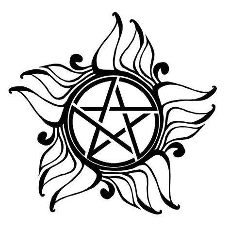 This five-pointed star is supposed to protect the owner from all demonic forces.