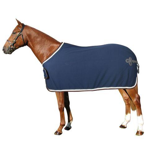 Coperte In Pile.Coperta Treccia Horses Accessori Cavalli Coperte