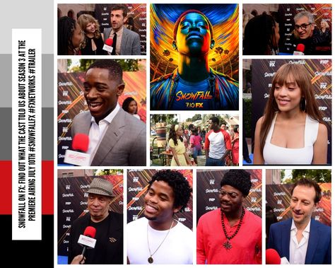 Snowfall on FX: Find out what the cast told us about season 3 at the premiere airing July 10th #SnowfallFX #FXNetworks #Trailer #VideoInterviews