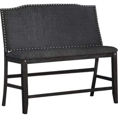 Darby Home Co Dylan Counter Height Upholstered Bench Darby Home Co Upholstered Dining Bench Counter Height Bench Bench