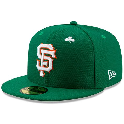 Men s San Francisco Giants New Era Kelly Green 2019 St. Patrick s Day  On-Field 59FIFTY Fitted Hat 52f61e08e7a