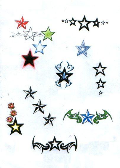 Ster Tattoo Sterren Tattoos Betekenis En Voorbeelden