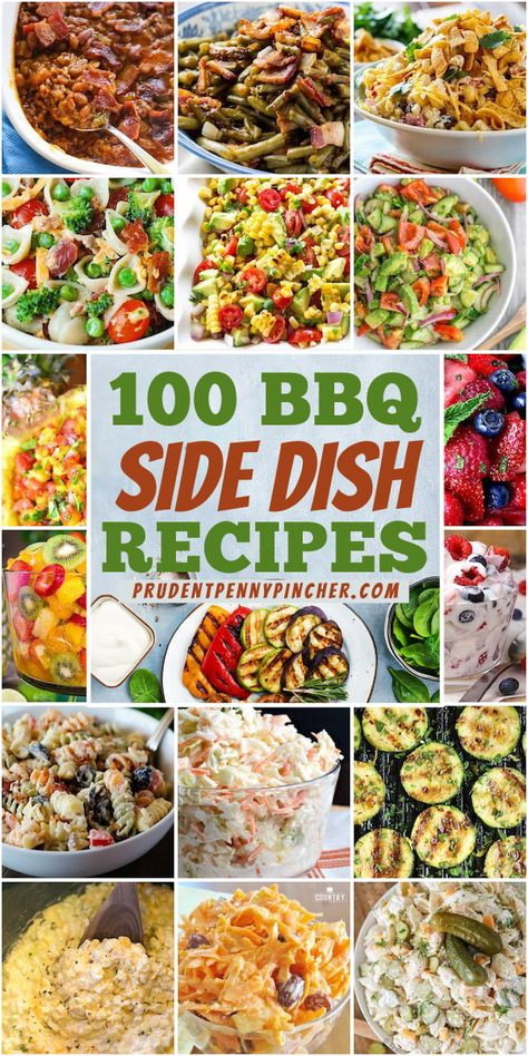 Side Dish Recipes, Side Dishes For Bbq, Summer Side Dishes, Potluck Recipes, Dinner Recipes, Summer Grilling Recipes, Summer Recipes, Summer Salads, Summer Potluck