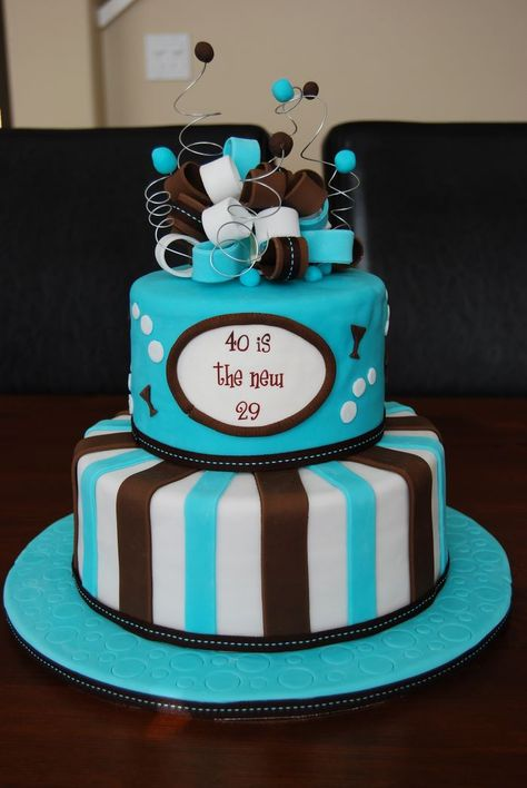 40th Birthday Cake Decorating Ideas Funny Cakes For