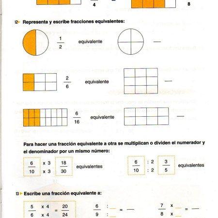 Operaciones Básicas Fracciones Y Números Decimales Fracciones Numeros Decimales Decimal