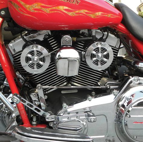 Love Jugs Cool Master Engine Cooling Fan Chrome Cmcr Cooling