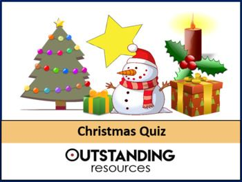 This Is A Handmade Quiz Because I Was Fed Up With Other Quiz S Available And Took Me The Best Part Of 2 Solid Days It Com Christmas Quiz Fun Quiz End