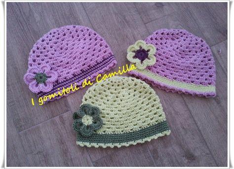 Come si fa un berretto granny a uncinetto  i tutorial di Camilla ... 8263b8ac7d96