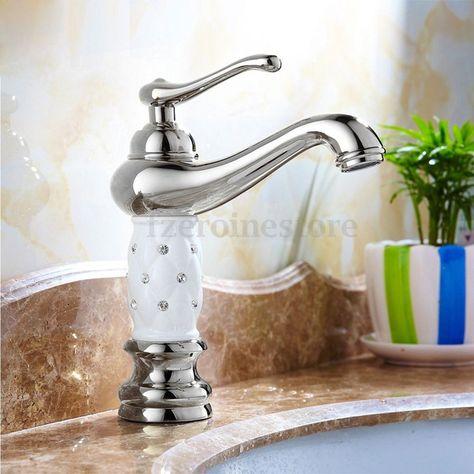 Retro Vintage Design Einhebel Wasserhahn Waschbecken Mischbatterie