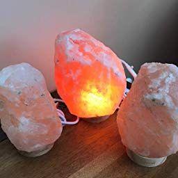 Amazon Com Customer Reviews Levoit Salt Lamp Himalayan Hymilain Sea Salt Lamps Pink Crystal Large Salt Rock Lamp Night Salt Lamp Salt Rock Lamp Rock Salt