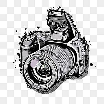 الملايين من Png الصور والخلفيات والمتجهات للتحميل مجانا Pngtree In 2020 Digital Camera Photo Camera Drawing Camera Illustration