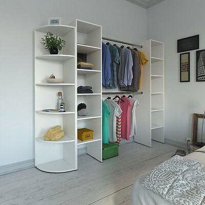 Vicco Kleiderschrank Offen Begehbar Regal Kleiderstander Schrank Weiss Garderobe Ebay In 2020 Kleideraufbewahrungssystem Platzsparende Mobel Kleiderschrank