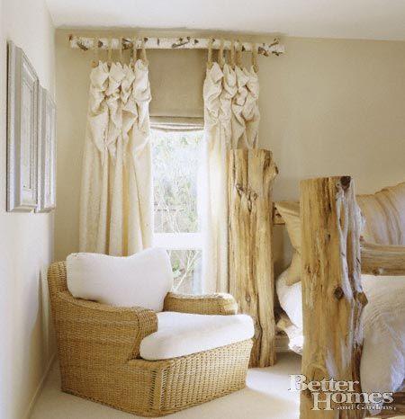 drop cloth curtains boho ideas 2019