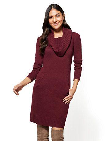 41+ Cowl neck sweater dress info