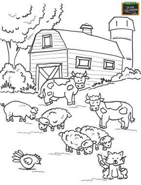 Newest Absolutely Free Farm Coloring Pages Strategies The Stunning Issue Pertaining To In 2021 Farm Animal Coloring Pages Farm Coloring Pages Free Kids Coloring Pages