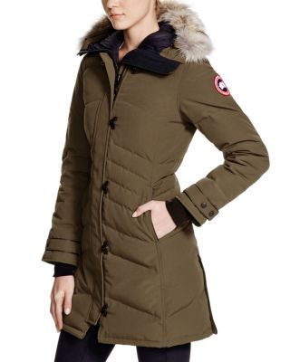 215b909df28 Canada Goose Lorette Down Coat with Coyote Fur - 100% Bloomingdale s  Exclusive