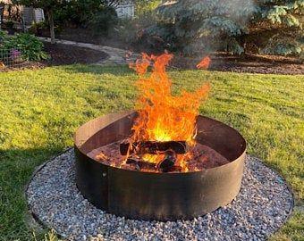 Large Corten Weathering Steel Fire Pit Etsy In 2020 Iron Fire Pit Steel Fire Pit Rustic Fire Pits