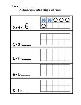 Simple No Prep Print And Go Kindergarten Math Wor Kindergarten Math Worksheets Addition Kindergarten Addition Worksheets Kindergarten Subtraction Worksheets