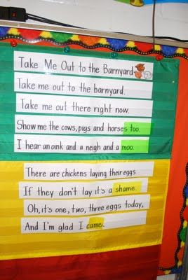 Weekly poem. Highlight the sight words with paper!