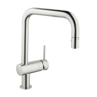 Grohe Kitchen Faucet 32319 Minta Dual Pull Down Spray Faucet