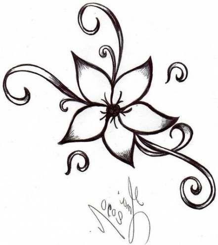 60 Ideas Drawing Ideas Easy Love Simple Flower Drawing Design Simple Flower Design Easy Flower Drawings