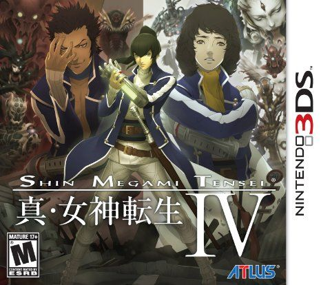 Nintendo 3ds: Shin Megami Tensei IV - Got this on pre-order. Can't wait for Tuesday!