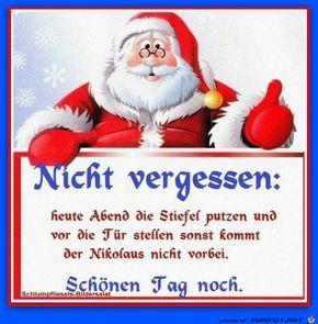 Lustiges Bild Morgen Ist Nikolaus Jpg Eine Von 68 Dateien In Der Kategorie Nikolaus Auf Funpot Winter Fun Golf Humor Weihnachten