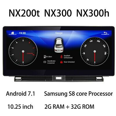 Car Multimedia Player Stereo Gps Radio Screen Android For Lexus Nx Nx200t Nx300h Ebay Lexus Gps Ebay Cars
