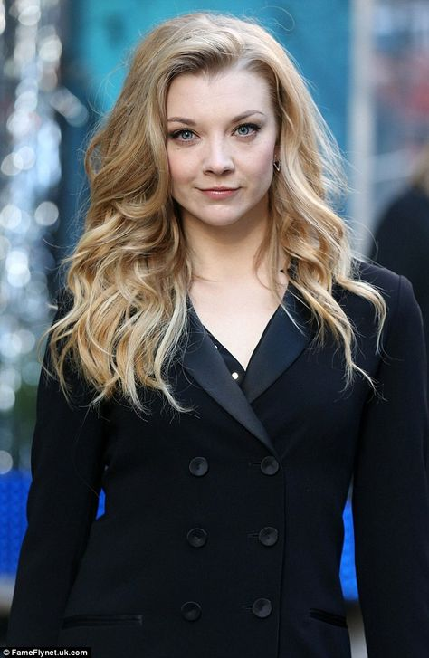 Natalie Dormer | Warming up: The English beauty is happy to be growing out her strands