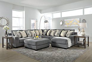 Castano 4 Piece Sectional With Chaise Ashley Furniture Homestore Sectional Ashley Furniture Lounge Suites