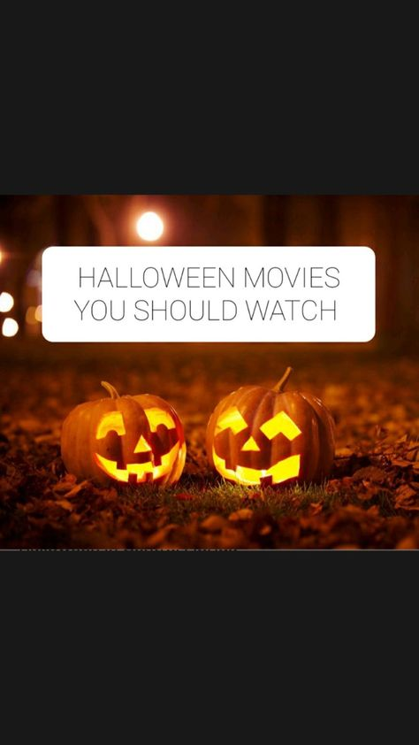 Halloween movies you must watch