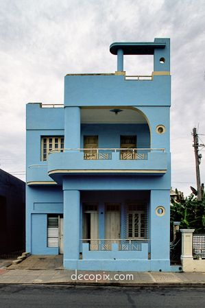 Colors And Architecture Of My Homeland | Art deco, Cuba and Architecture