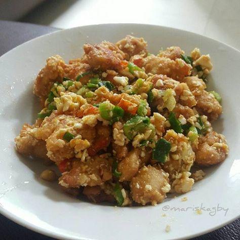 Resep Ayam Goreng Telur Asin Oleh Gaby Mariska Runtu Resep Resep Ayam Ayam Goreng Makan Malam