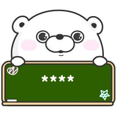 Line Official Stickers Lovely Baby Girl G Bangul 2 Example With Gif Animation Line Sticker Custom Stickers Cute Drawings