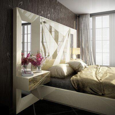 Everly Quinn Jerri 5 Piece Bedroom Set 5 Piece Bedroom Set Platform Bedroom Sets Bedroom Set