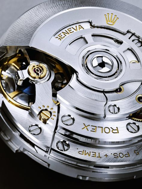 Rolex Sea-Dweller movement, Caliber 3235 - Rolex was granted 14 patents for this caliber.  For more information, visit us at WatchTime.com.  #rolex #rolexseadweller #watchmovement #watchtime