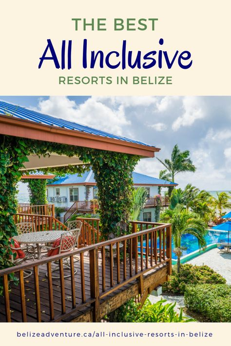 Top 5 All Inclusive Resorts in Belize 2019 – Belize Adventure - Travel Advice by Local Experts Belize Hotels, Belize City, Belize Vacations, Belize Travel, Beach Vacations, Romantic Vacations, Romantic Getaways, Vacation Places, Cruises