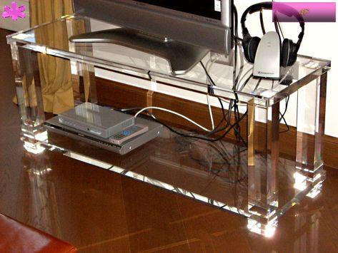 Mobile Porta Tv Plexiglass.Pin On Acrylic Tv Stands Mobili Tv In Plexiglass