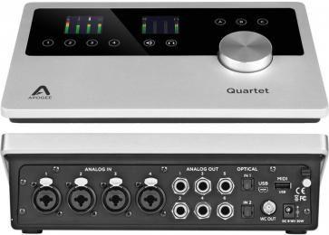 Apogee Quartet 12 Channel Usb Audio Interface Audio Interface Usb