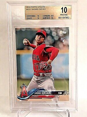 2018 Topps Update Shohei Ohtani Rookie BGS Pristine 10 (almost black label)  | Sports cards, Black label, 10 things