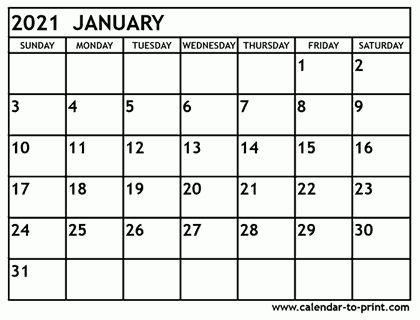 2021 January February Calendar In 2020 February Calendar Calendar Monthly Calendar Printable