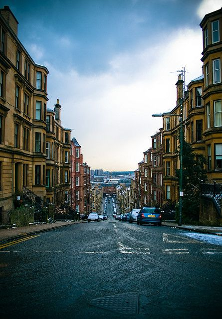 Glasgow, Scotland, been there, it just didn't do much for me.  Edinburgh is so much