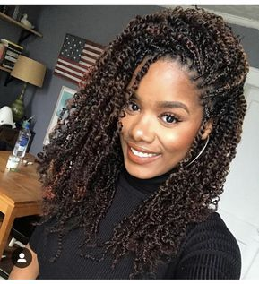 8 Super Cute Protective Styles For Winter Twist Braid Hairstyles Natural Hair Styles Hair Styles