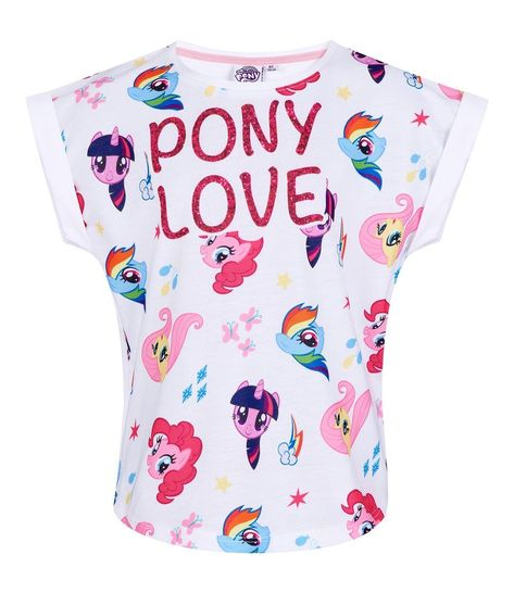 My Little Pony Hasbro Girls short sleeve Cotton Top 567c2ef06