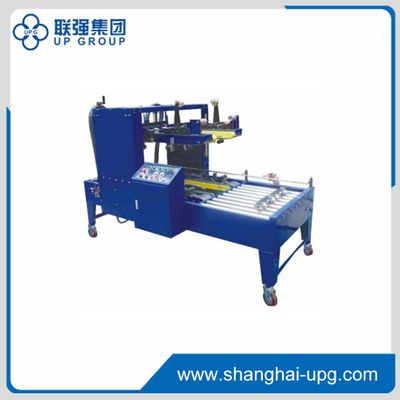 Get Fj5040 Upper And Lower Corner Sealing Machine Adopts The Eight Corner And Four Side Sealing Which Is Parallel To The Forw Carton Adhesive Tape Four Corners