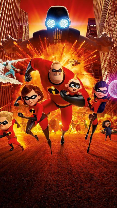 Incredibles 2 (2018) Phone Wallpaper | Moviemania